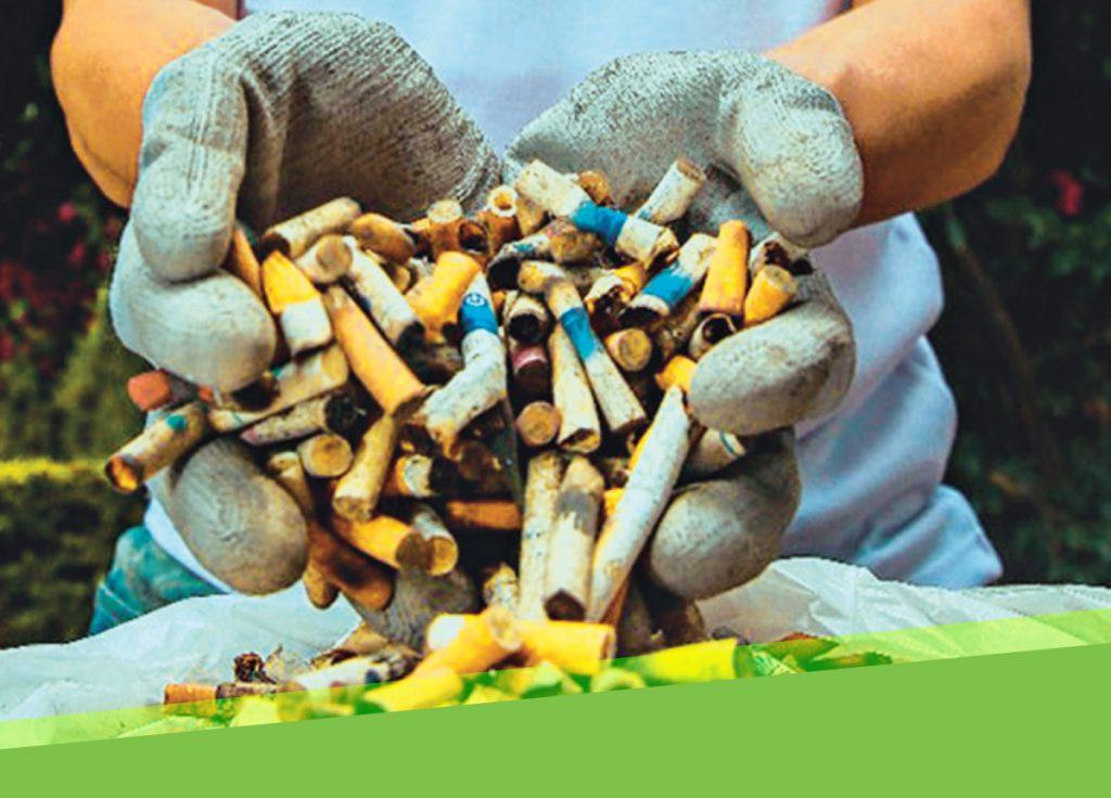 Cenicero para Colillas de Cigarillo