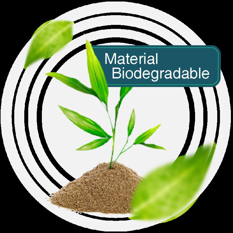 Material Biodegradable