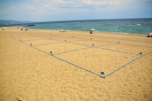 separadores de playa